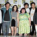 City of Bones Cast at Comic Con 2013 03