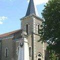 Buxerolles (86), église Saint Philippe et Saint-Jacques