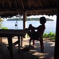 Vue sur Wana deouis notre hutte