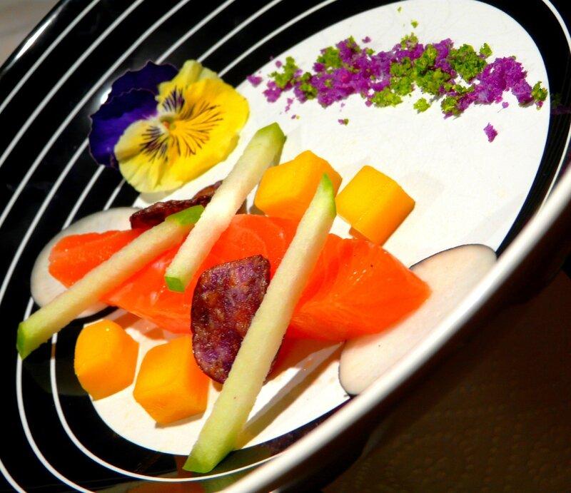 08 Poissons - Saumon façon gravelax & fumé à la litière de lapin 1