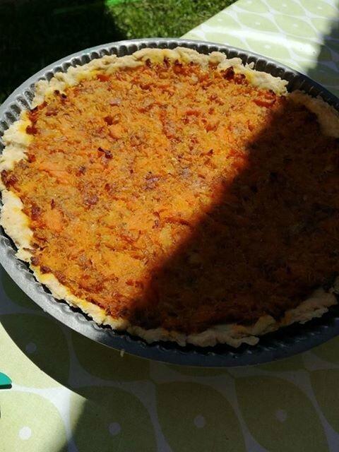 lcvf tarte aux carottes