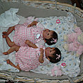 33 poupee reborn jumelle