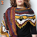 Open space shawl ~ sylvie damey
