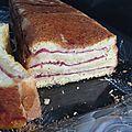 Croque-cake viande des Grisons