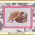 Échange ATC (Juin) Chez Corinne (Chapeau) Lysette pour Marie de Clessé 1