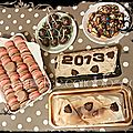 Les premiers desserts de 2013.