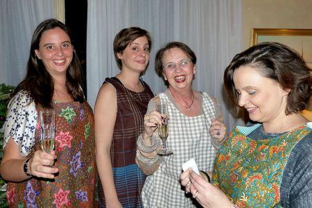 Quatre filles en Elsie
