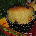 Muffins au mascarpone