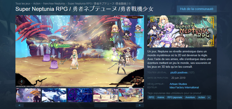 Super nep Steam