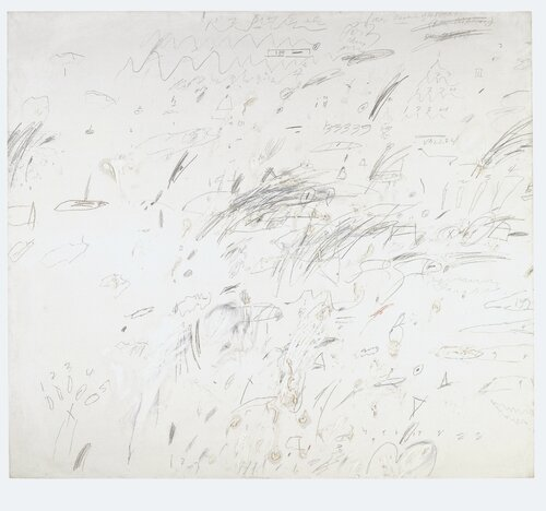 04 Twombly Study for Presence of a Myth 1959 Roma