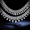 Two diamond necklaces, harry winston, 1984