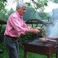 Alain et le barbecue
