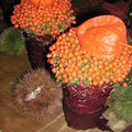 Table automne-châtaigne