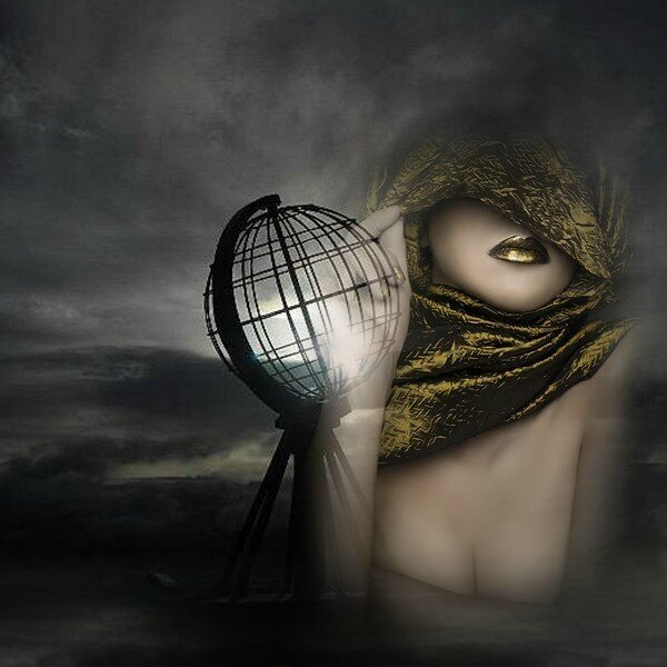 Soleil en cage