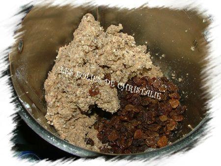 Cookies aux raisins secs 2