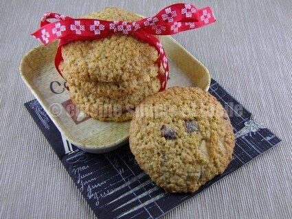 cookies flocons d'avoine 07