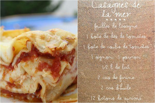 Lasagne mer