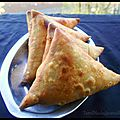 Vangayam samosa ( samosa aux oignons )