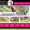 Une fille en cuisine...le site web est en ligne !