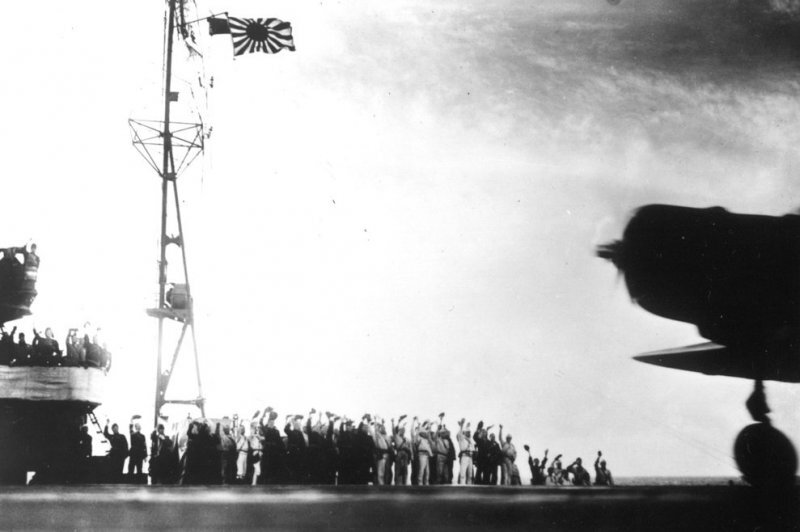 torpedo-plane-takes-off-from-shokaku-to-attack-pearl-harbor
