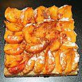 Tartelettes mirabelles crème amande