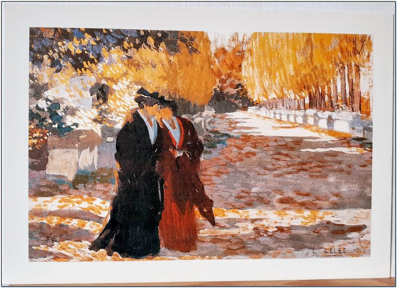 Léo Lelée - Promenade dans l'automne flamboyant des Alyscamps