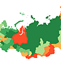 HDI of Russian federal subjects