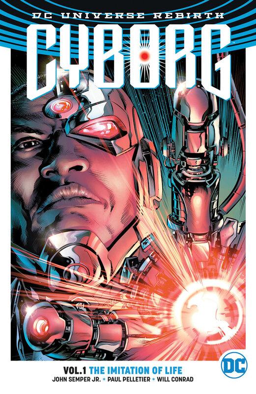 rebirth cyborg vol 01 the imitation of life TPB