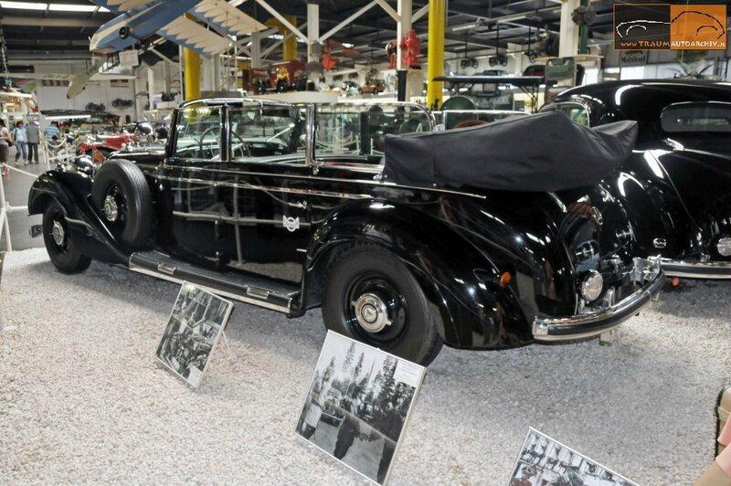 770 Grosser Cabrio F Gepanzerte Sonderausfuehrung '1938 (8)