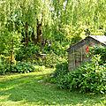 Le jardin des voisins....