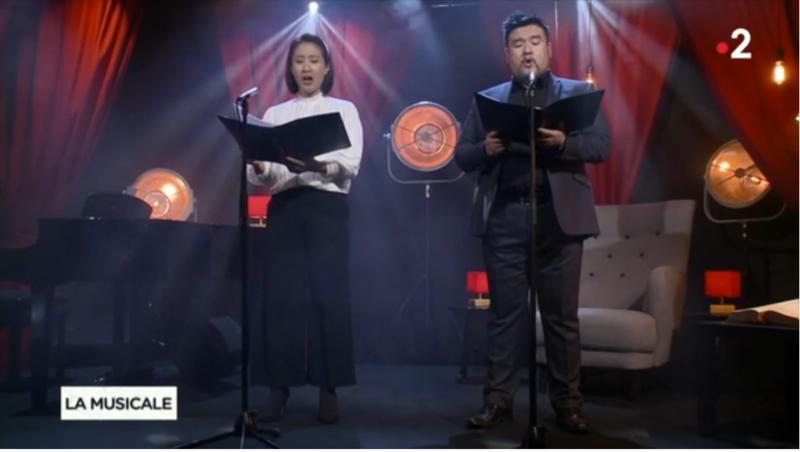 SooYe Suk et Jérémie Suk La Musicale Media Dixit World