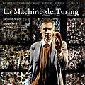 Compte-rendu de lecture, l'avant-scène théâtre, n° 1446, la machine de turing, benoit soles