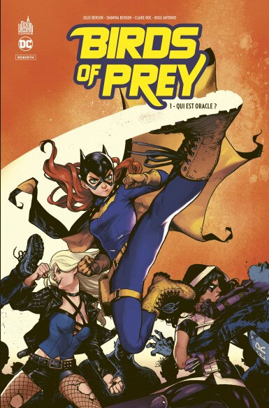 Urban DC Birds of Prey Rebirth