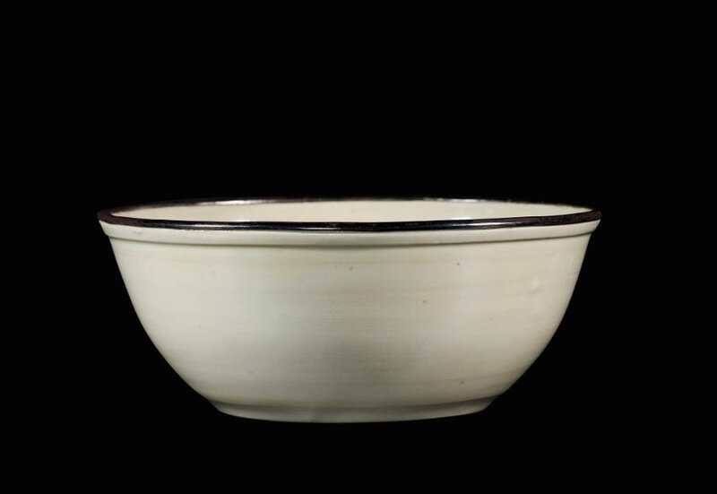 An heirloom Dingyao 'Daylily' bowl, Northern Song dynasty (960-1127)