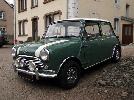MORRIS Mini Cooper 1961 1967 Criterium de la Vallee de la Bruche Amedee Gordini 2010 1