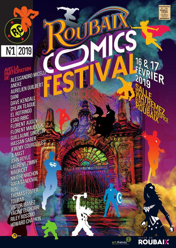 roubaix comics festival 2019