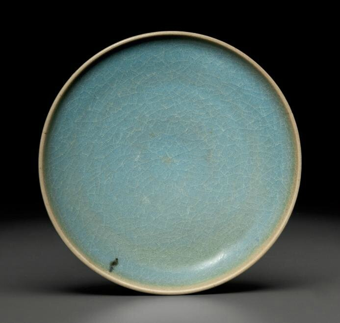 A Junyao dish, Song-Jin dynasty, 11th-12th century