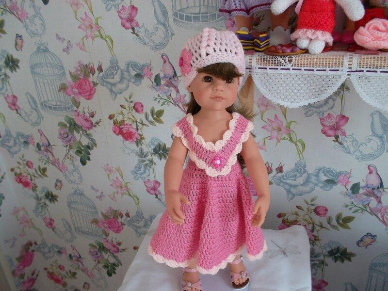 Félicity porte la jolie robe de Lise 2