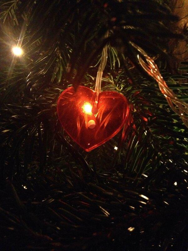 déco Noël coeur