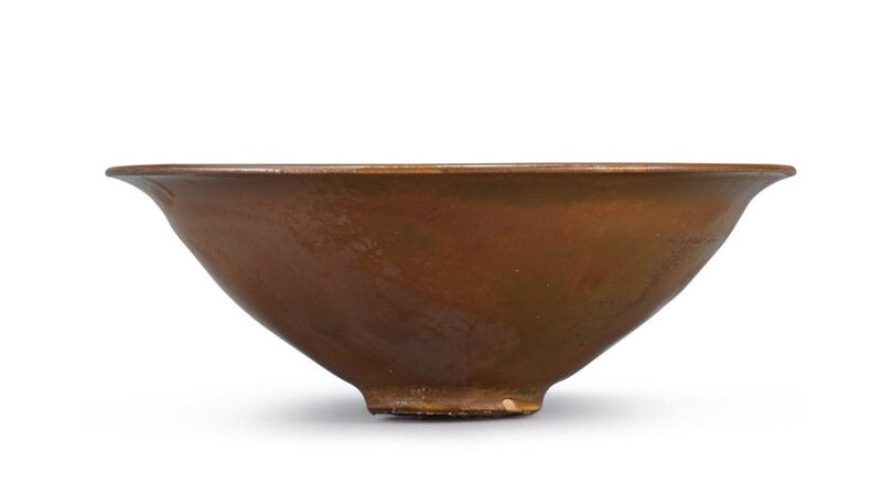 A Yaozhou persimmon-glazed cup, Song Dynasty (960-1279)