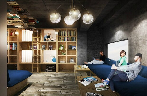 book-bed-hotel-japan-tokyo-bookstore-hostel-2
