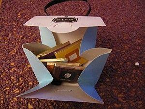 sac ouvert chocolats