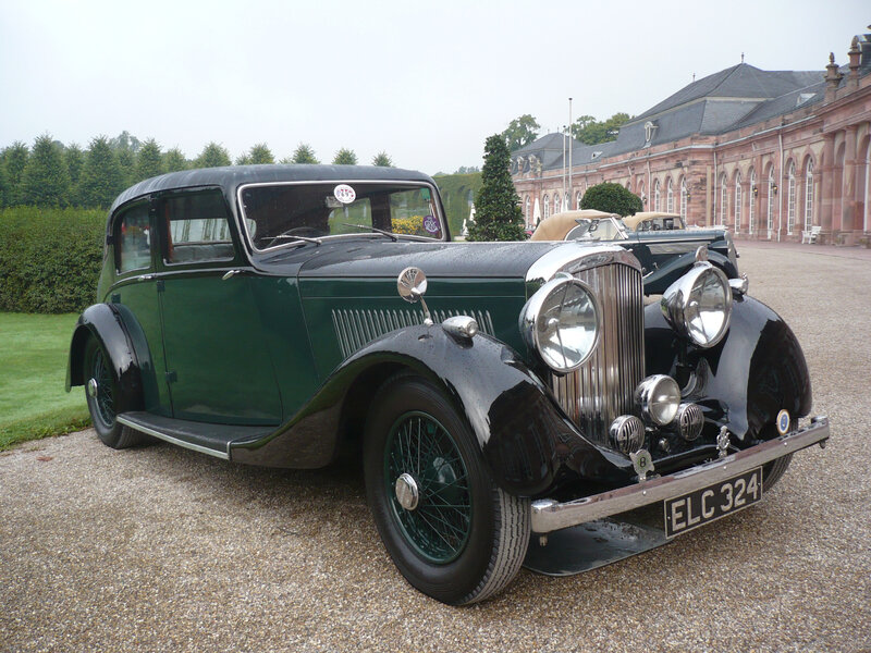 BENTLEY 4 1-4 Litre Light Sports Saloon by Park Ward 1938 Schwetzingen (1)