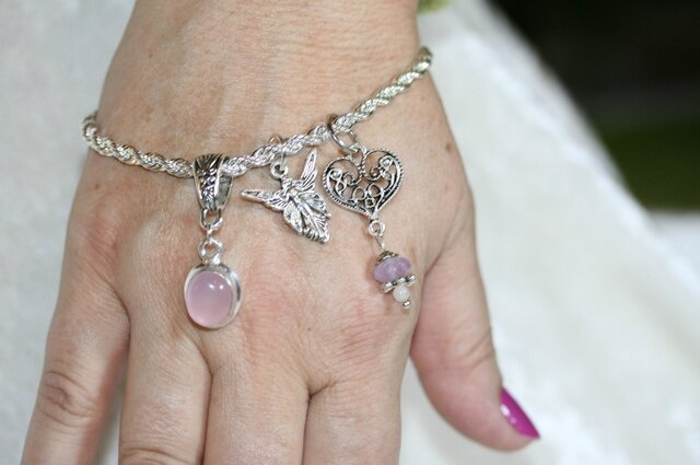 bracelet fee quartz rose4