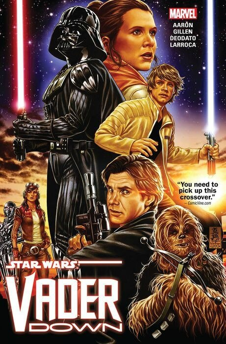 marvel star wars vader down TP