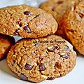 Cookies aux graines de lin, riches en oméga3
