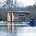 cabane sur l'eau à nddl