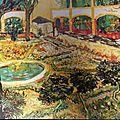 tableau du jardin peint par Van Gogh