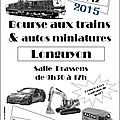 Bourse de trains miniatures - longuyon