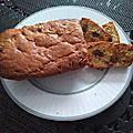 Cake aux fruits secs